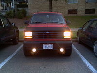 1991 Ford Explorer 2 Dr XL 4WD SUV, The new grille, exterior