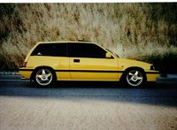 1987 Honda Civic S Hatchback, 1987 Honda Civic Hatchback S picture, exterior
