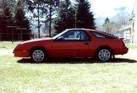 1986 Chrysler Laser Picture Gallery
