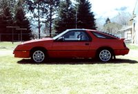 1986 Chrysler Laser picture, exterior
