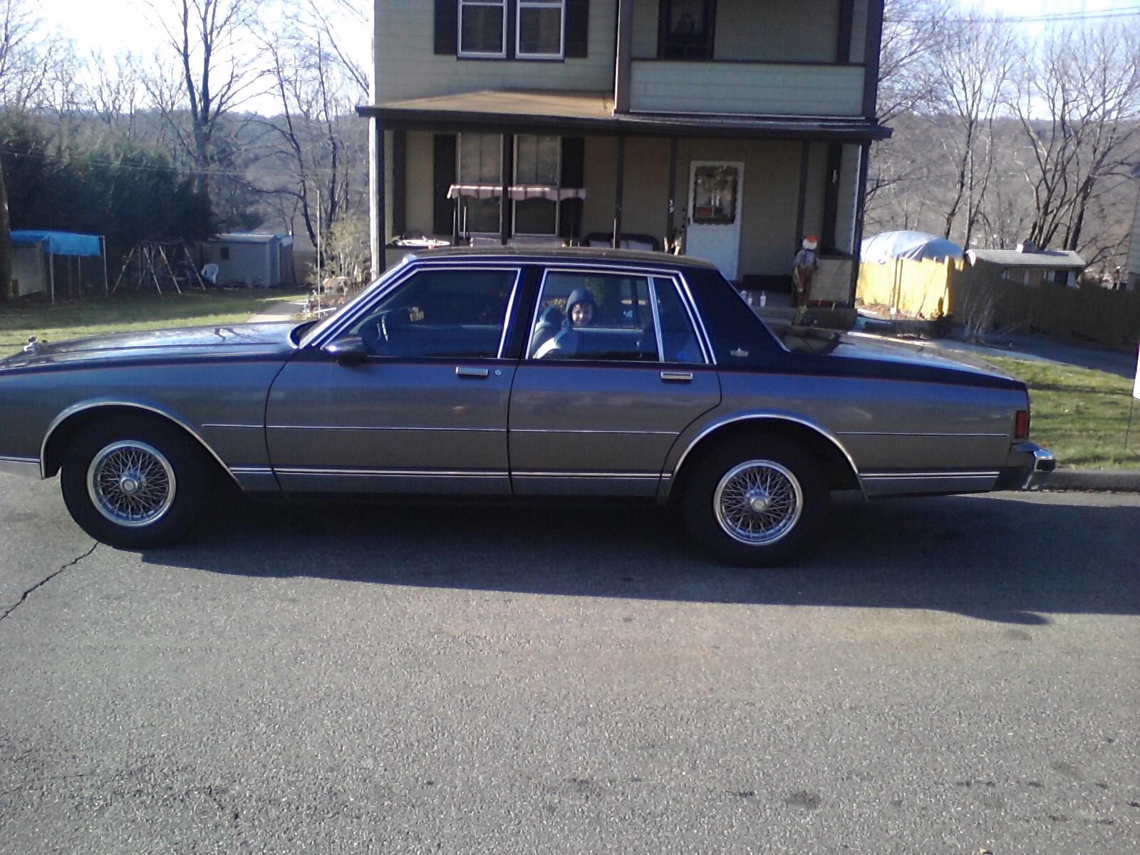 1988 Monte Carlo Ss Specs >> 1988 Chevrolet Caprice - Pictures - CarGurus