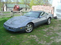 1990 Chevrolet Corvette Coupe, 1990 Chevrolet Corvette 2 Dr STD Hatchback picture, exterior