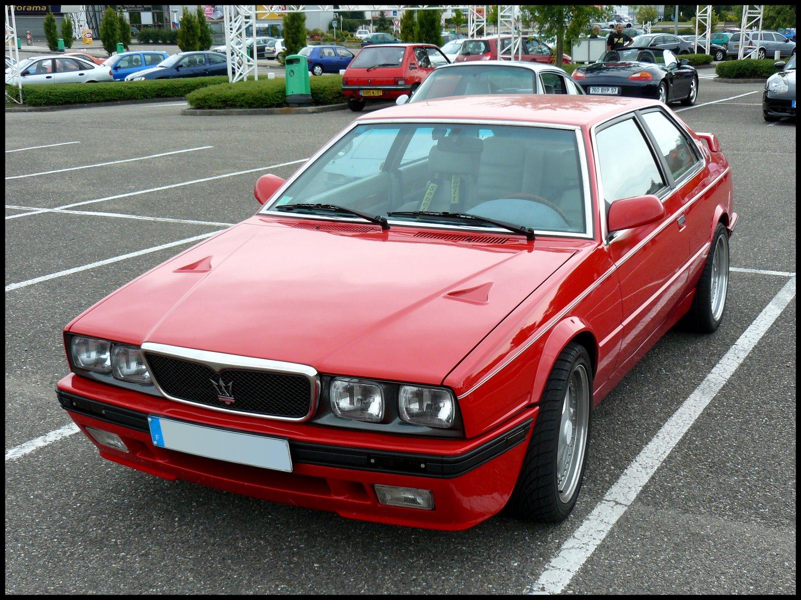 1987 Maserati Biturbo Pictures Cargurus