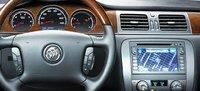 2010 Buick Lucerne, Steering wheel and navigation screen. , exterior, manufacturer