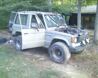 1987 Mitsubishi Montero, Monty. That was fun while I had it., exterior, gallery_worthy