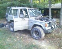 1987 Mitsubishi Montero, Monty. That was fun while I had it., exterior