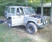 1987 Mitsubishi Montero, Monty. That was fun while I had it., exterior