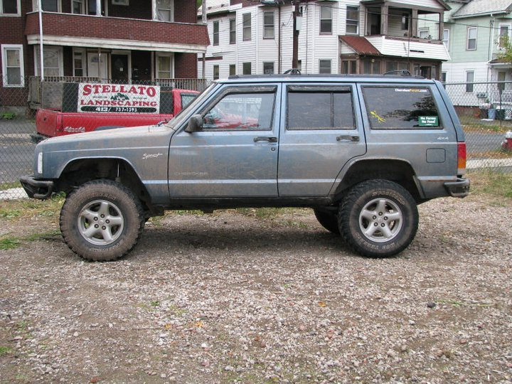 1998 jeep cherokee 4 dr sport 4wd needs a little more lift and bigger. Cars Review. Best American Auto & Cars Review