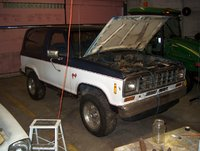 1986 Ford Bronco II picture, engine, exterior