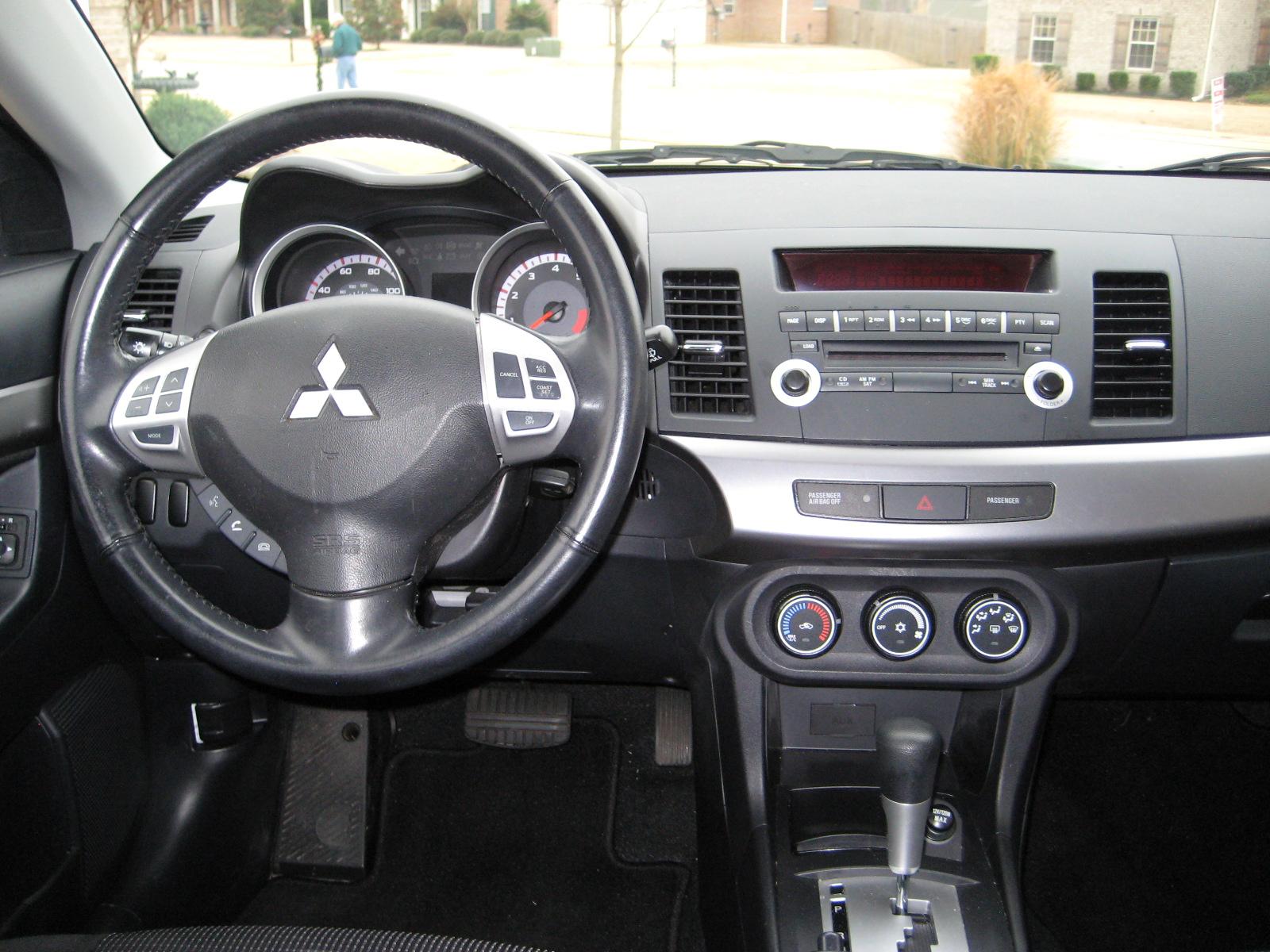 2009 Mitsubishi Lancer Interior Pictures Cargurus
