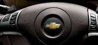 2010 Chevrolet Malibu, Close-up of steering wheel controls. , interior, manufacturer