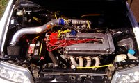 1991 Honda Civic CRX 2 Dr Si Hatchback picture, engine