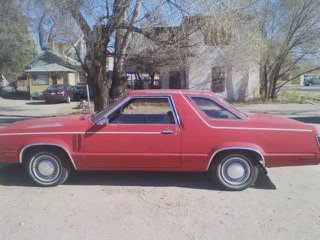 1981 Mercury Zephyr, my car, exterior