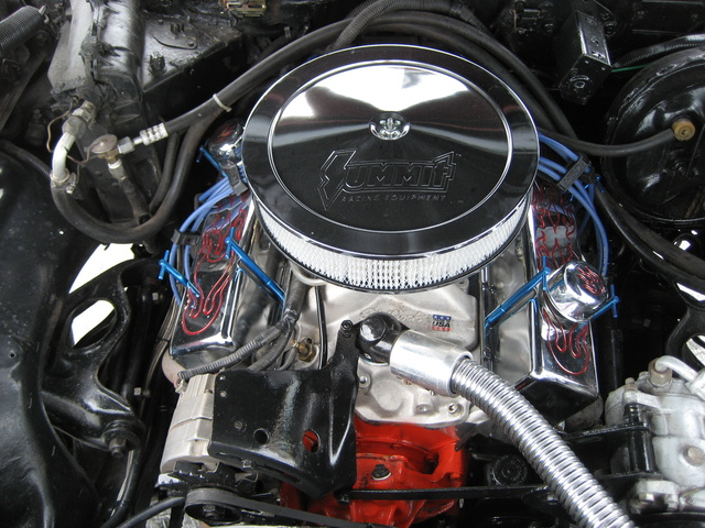 1975 Chevrolet Nova, Chevy Nova 75, 355cui, 250HP, engine