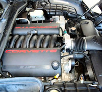 2002 Chevrolet Corvette Coupe picture, engine