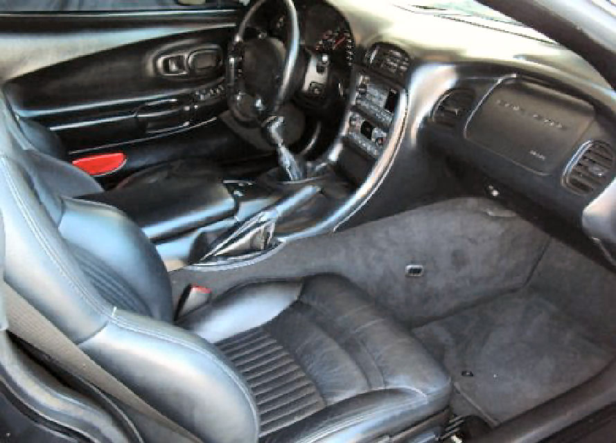 2002 Chevrolet Corvette Coupe picture, interior