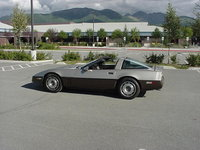 1987 Chevrolet Corvette Base, 1987 Chevrolet Corvette Coupe picture, exterior