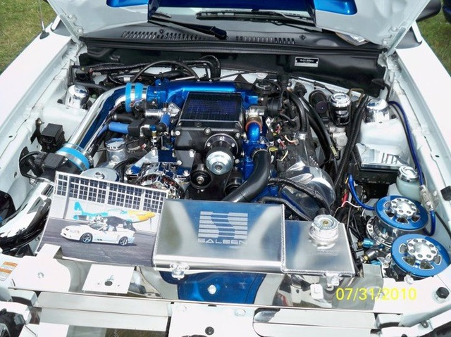 Picture of 1994 Ford Mustang GT Coupe, engine