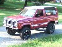 1986 Ford Bronco II, 1986  bronco  after lift added, exterior