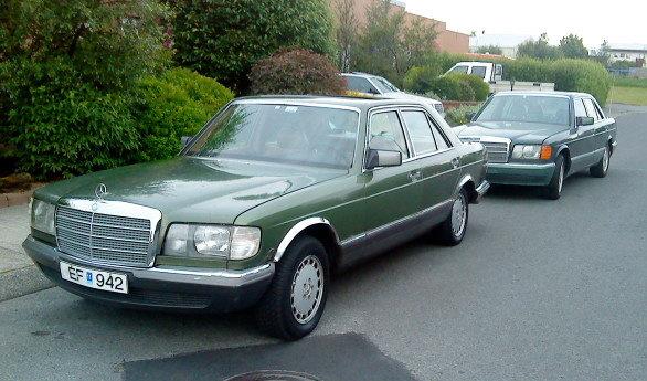 1980 Mercedes-Benz 280, Sá gamli dregur þann nýja, græni hvalurinn mun sennilegast aldrei stoppa, ódrepandi kvikindi, exterior, gallery_worthy