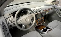 2009 Mercedes-Benz R-Class, Steering wheel and navigations system., manufacturer, interior