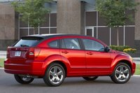 2011 Dodge Caliber, Back Right Quarter View, exterior, manufacturer