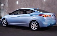 2011 Hyundai Elantra, Back Left Quarter View, exterior, manufacturer