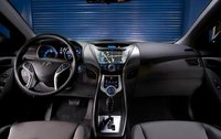 2011 Hyundai Elantra, Interior View, manufacturer, interior