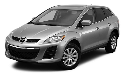 2011 Mazda CX-7, Front Left Quarter View, exterior, manufacturer