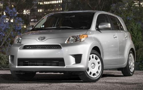 2011 Scion xD, Front Left Quarter View, exterior, manufacturer
