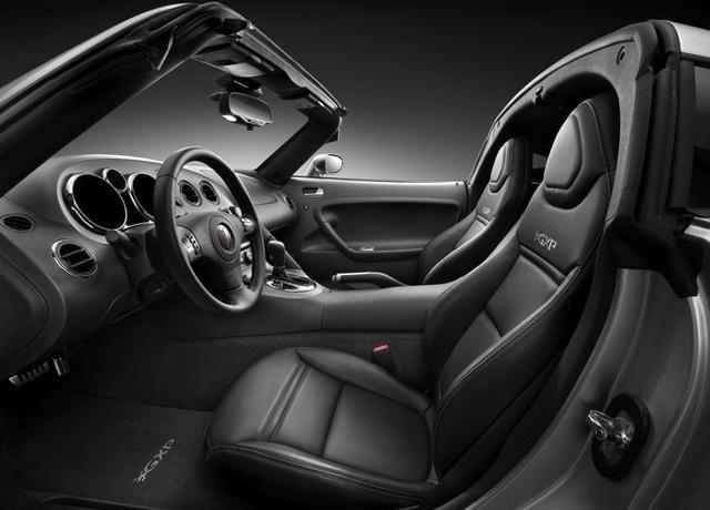 2009 Pontiac Solstice, Interior View, interior, manufacturer