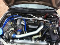 Picture of 1999 Toyota Altezza, engine