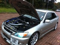 Picture of 1999 Toyota Altezza, exterior, engine