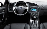 2009 Saab 9-5, Steering Wheel and Navigation System., interior, manufacturer