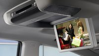 2011 Subaru Tribeca, Entertainment Screen., interior, manufacturer