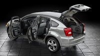 2011 Dodge Caliber, Quarter view with opened doors. , exterior, interior, manufacturer