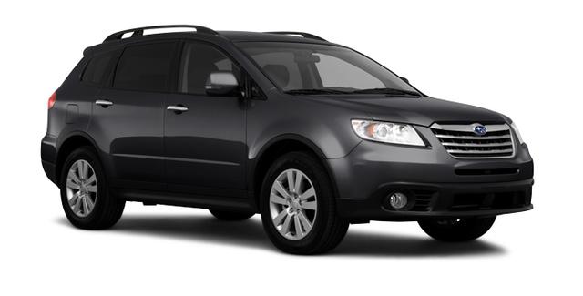Subaru Tribeca, Three quarter view., exterior, manufacturer