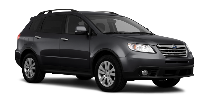 2007 Subaru B9 Tribeca, Three quarter view. , manufacturer, exterior