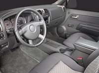 2009 GMC Canyon, Front Seat; copyright AOL Autos. , interior, manufacturer, gallery_worthy