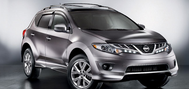 2011 Nissan Murano, Front quarter view. , exterior, manufacturer