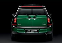 2011 MINI Cooper, Back View Mini Cooper Clubman., exterior, manufacturer