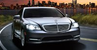 2011 Mercedes-Benz S-Class, Front quarter view. , exterior, manufacturer