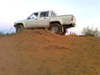 1988 Toyota Hilux, up hill, exterior