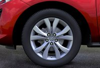 2011 Mazda CX-7, Close-up of front wheel., exterior, manufacturer