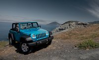 2011 Jeep Wrangler, Three quarter view. , exterior, manufacturer, gallery_worthy