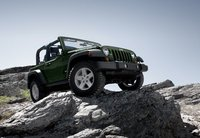 2011 Jeep Wrangler, Three quarter right view. , exterior, manufacturer, gallery_worthy