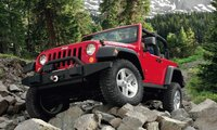 2011 Jeep Wrangler, Front View. , exterior, manufacturer, gallery_worthy