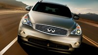 2011 INFINITI EX35, Front View. , exterior, manufacturer, gallery_worthy