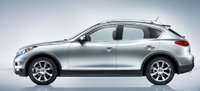 2011 INFINITI EX35, Side View. , exterior, manufacturer