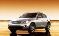 2011 Infiniti EX35, Front Three quarter view., manufacturer, exterior